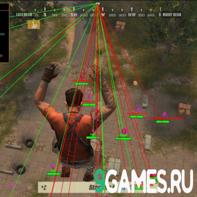 Чит для ROS RULES OF SURVIVAL HAX4YOU - AIM/ESP/TELEKILL